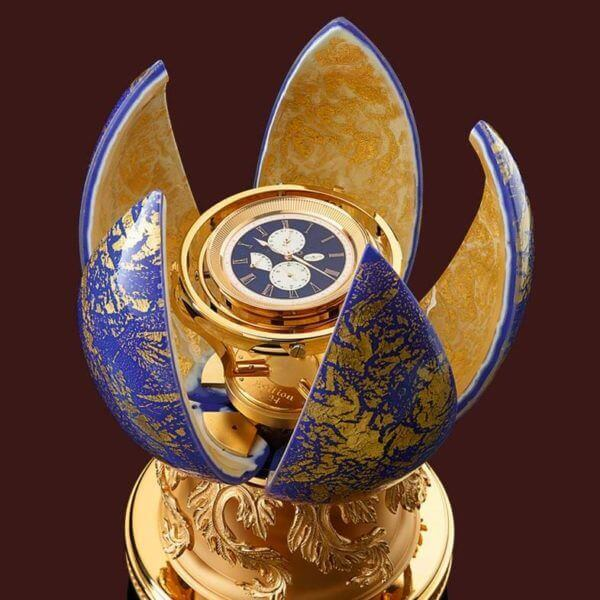 Golden H by Rolf Lang Dresden is the most exclusive marine chronometer in the world